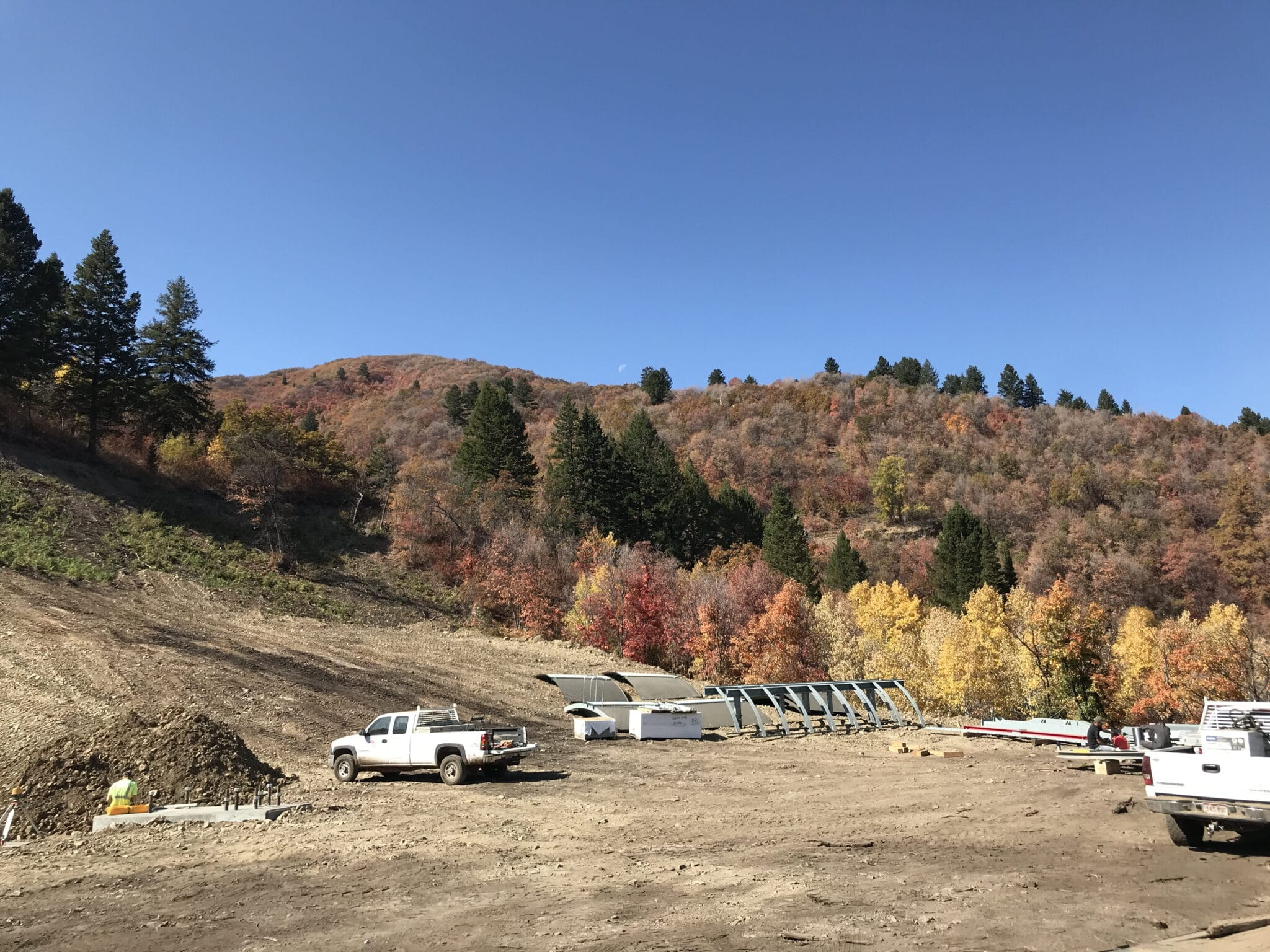 Base area of new lift